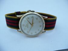 ORIGINAL MENS 1960S RARE 9CT GOLD RECORD LONGINES GENTS SWISS WATCH CAL640 FWO