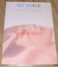 TAEYEON My Voice 1ST ALBUM DELUXE EDITION Blossom ver. CD + PHOTO + POSTER TUBE