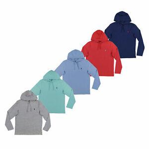 Polo-Ralph-Lauren-Mens-Hooded-T-Shirt-Long-Sleeve-Hoodie-Tee-S-M-L-Xl-Xxl-New
