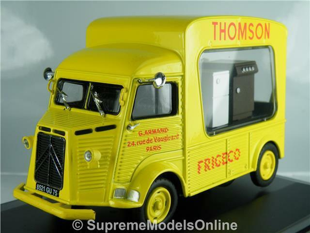 CITROEN HZ THOMSON 1959 FRIGECO FRIDGE FRIDGE FRIDGE VAN 1 43RD SIZE ELIGOR VERSION R0154X{ } 8489cd