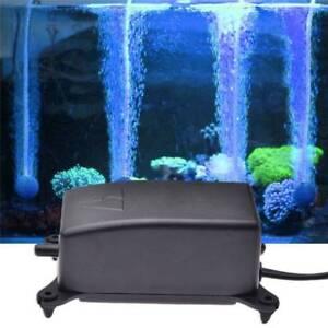 effiziente einstellbare aquarium sauerstoff fische tank luftpumpe energie silent ebay. Black Bedroom Furniture Sets. Home Design Ideas