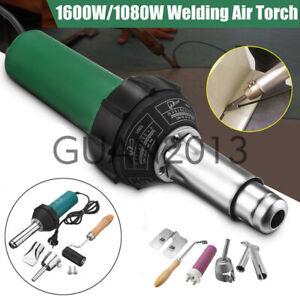 Details about 1600W/1080W AC 220V Hot Air Torch Plastic Welder Weld Heat  Gun Pistol Kit Tool