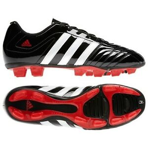 fe314b6b15b Women s Adidas Matteo Nua TRX FG Soccer Cleats - Black White Red ...