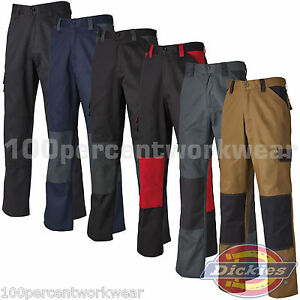 Dickies-Everyday-24-7-Cargo-Combat-Mens-Work-Trousers-Pants-Knee-Pad-Pockets-New