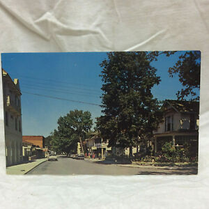 Vintage-Postcard-Walnut-Avenue-Lakeside-Ohio