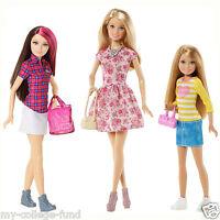 Barbie Sisters Fun Day Set Of 3 Barbie Skipper & Stacie Doll Ccp81/ccp82