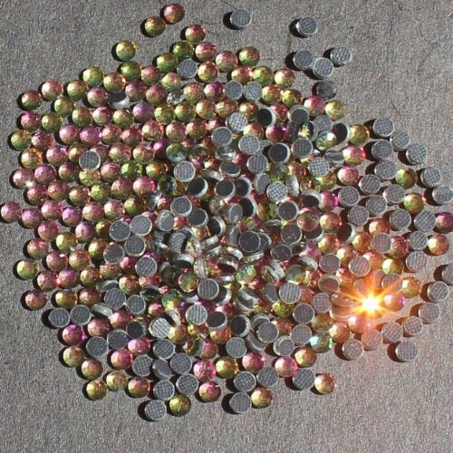 1000 DMC Hotfix Glass Rhinestones Diamante Flat Back Iron//Glue on Nail art Craft