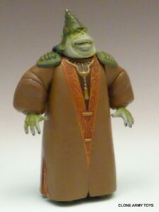 Details About Star Wars Boss Nass Gungan Power Of The Jedi Collection Potj Loose