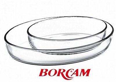 Borcam Glas Auflaufform Oval  Servierform Pasabahce Neu