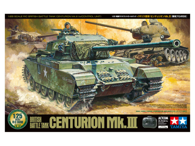 Tamiya 56604 1/25 Scale RC British Battle Tank Centurion Mk.III w/Control Unit