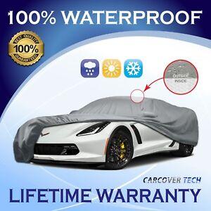 5 Layer Waterproof Custom Cover Chevy Corvette C5