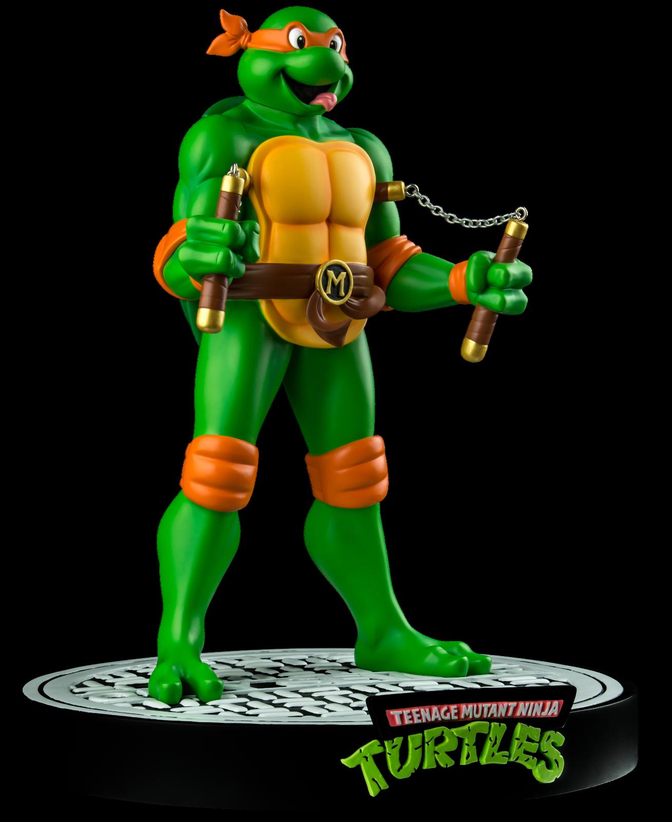 Ikon Collectibles Tartarughe Ninja Mutanti Adolescenti Tnmt Michelangelo 30.5cm