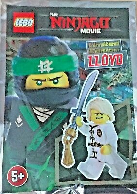 LEGO FIGURINE POLYBAG LIMITED SCELLE MINIFIGURINE NINJAGO LLOYD VERT LE CHEF