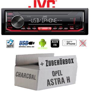 Autoradio jvc para Opel Astra H charcoal Bose mp3 USB android iphone kit de integracion
