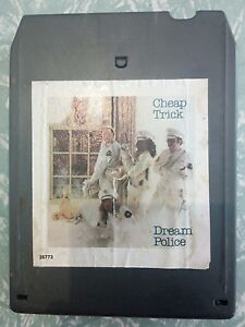 CHEAP-TRICK-DREAM-POLICE-8-track-tape-TESTED-FORD-HOLDEN-XY-XW-GTS
