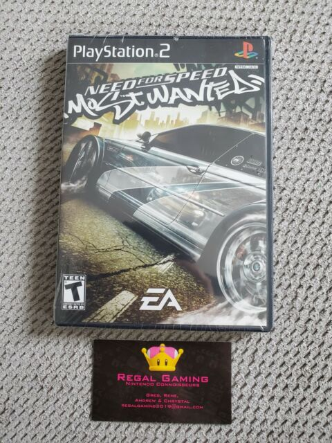 Need for Speed: Most Wanted (Sony PlayStation 2, 2005) PS2 Brand New Sealed
