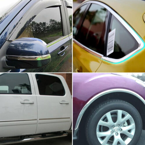 High-quality Car  Chrome DIY Moulding Trim Strip For Grille Window Door Bumper