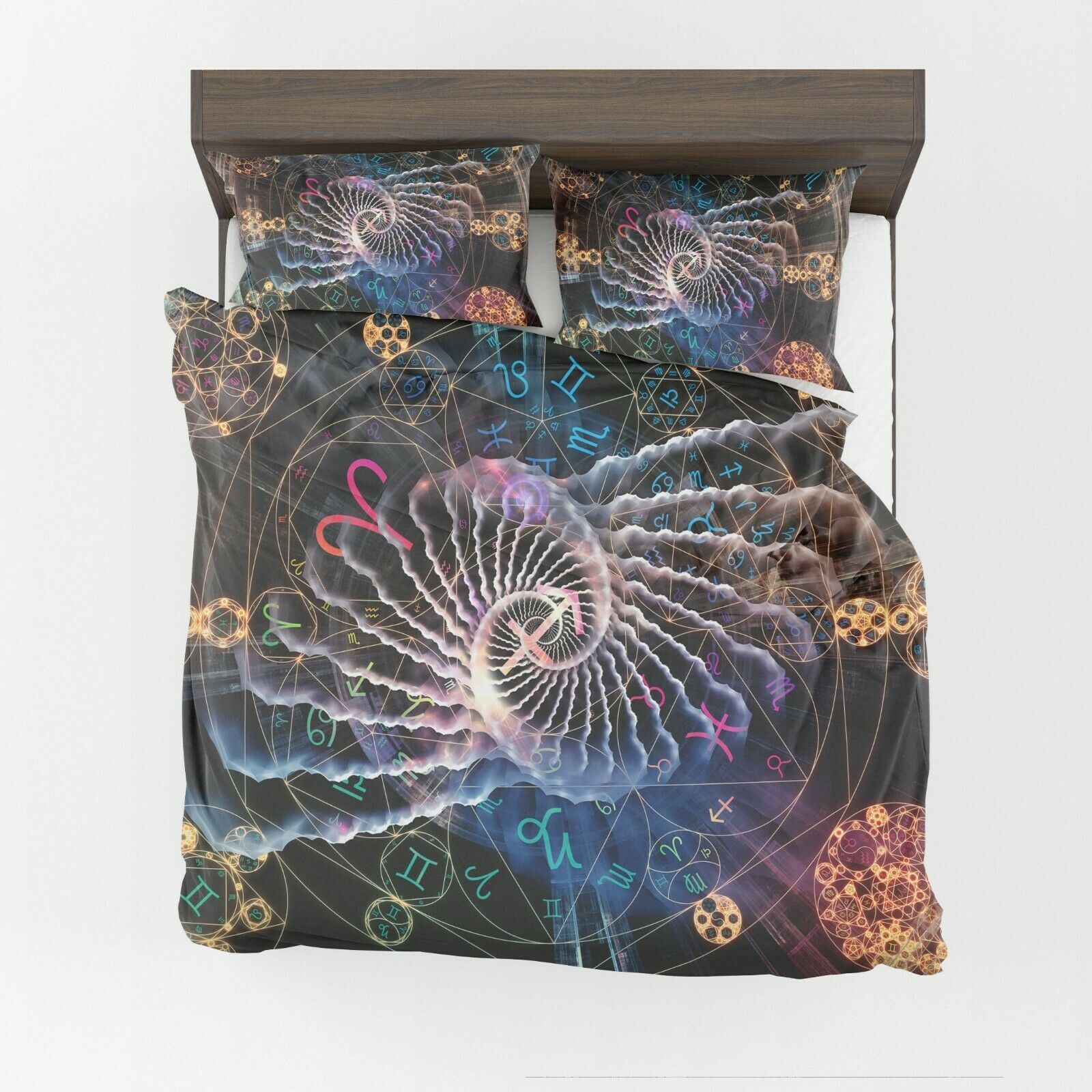 Astral Comforter or Duvet Cover zodiac bedding astrology comforter