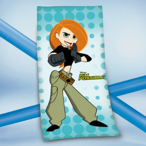 Kim Possible Walt Disney BADETUCH SAUNA HANDTUCH VELOURSTUCH 75 x 150 cm NEU WOW