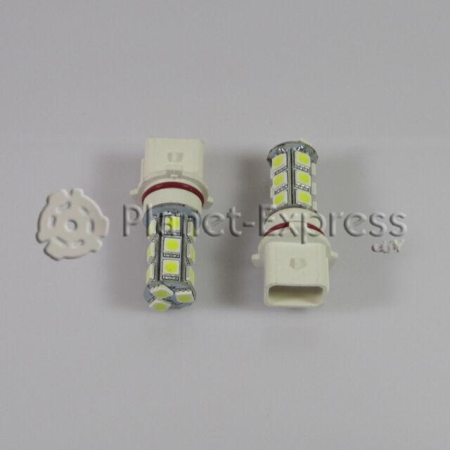 2 x Bombillas 18 LED SMD P13W antiniebla, DRL, Luz de Dia...Coche Blanco Xenon