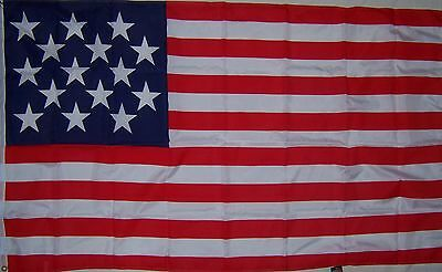 3x5 ft 15 STAR SPANGLED BANNER WAR 1812  FLAG
