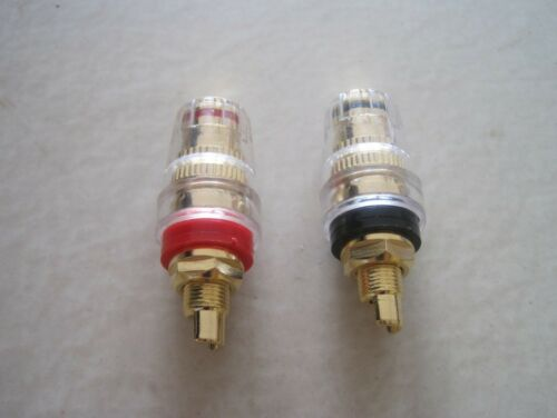 One Pair power amplifier terminals  High quality