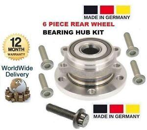 FOR-VOLKSWAGEN-VW-PASSAT-TSI-FSI-R36-TDI-2005-gt-NEW-REAR-WHEEL-BEARING-KIT
