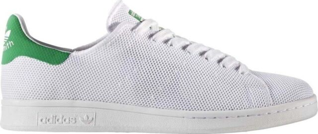 Adidas Stan Smith Men's Classic Lace Up Trainer WhiteGreen
