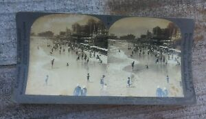 Keystone-View-Photo-CARD-STEREOSCOPE-STEREOVIEW-Vintage-Atlantic-City-N-J