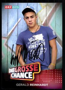 Gerald-Reinhardt-Die-Grosse-Chance-Autogrammkarte-Original-Signiert-BC-10879