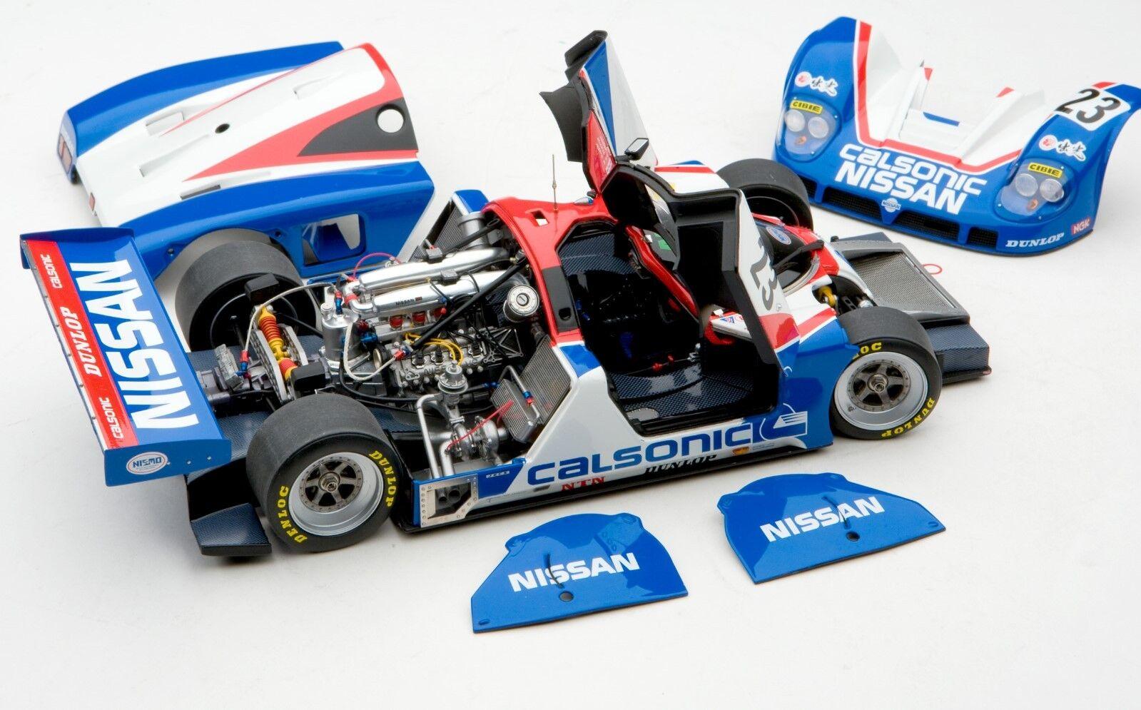 Exoto le Mans Master Carton 3x Jaguar XJR-9 & 3x Nismo Nissan R89 C