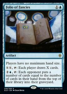 MTG-x4-Folio-of-Fancies-Throne-of-Eldraine-RARE-NM-M-Magic-the-Gathering