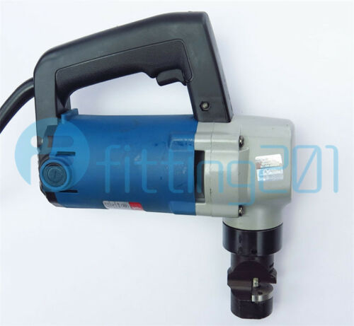 New Portable Metal Electric Nibblers Electric Metal Shear Heavy Duty Cutter 220V