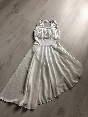 Ladies Size 6 White Lyrical Ballet Dress. Worn Once, Girls Aged 12 13 14 15