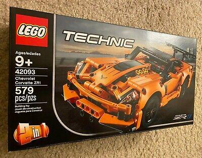 42093 2-in-1 New Sealed Lego Technic Chevrolet Corvette ZR1