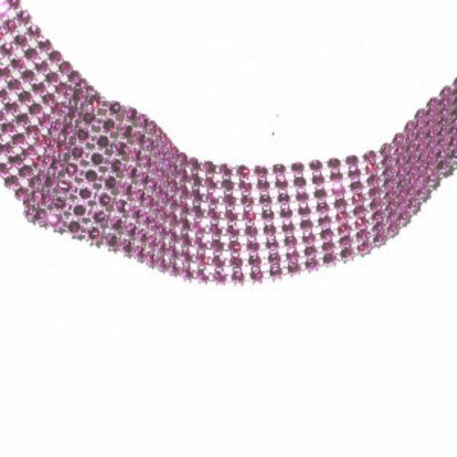 "1.1//2/"" Jewel Effect Trim x 1 yard or pre-cut length Various colours"