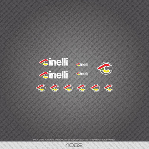 Transfers Decals 01062 Cinelli Bicycle Stickers