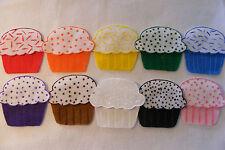 Felt / Flannel Board story - 10 LITTLE CUPCAKES , circle preschool