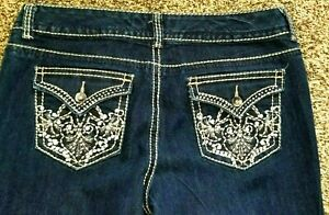 Nine-West-Annette-New-Sexy-Rhinestone-Bling-Patch-Pocket-Jeans-12-34-31