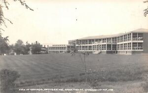 Hebron-ME-Greenwood-Mountain-Western-Maine-Sanatorium-Demolished-1942-RPPC