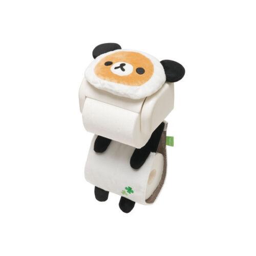 KF85601 San-X Rilakkuma panda in Golon series roll paper cover 25c27