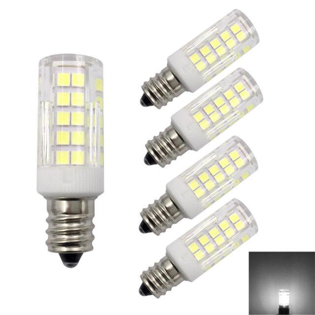 C7 Led Bulb >> 5pcs E12 Candelabra C7 Led Bulb 64led Ceramics Light 6w 110v Lamp Daylight H
