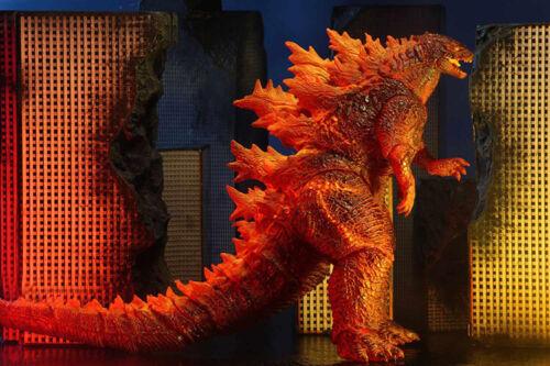 """Burning GODZILLA IL RE DEI MOSTRI 12/"""" necahead a coda Action figure modello"""