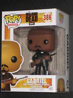 Walking Dead Gabriel Pop Vinyl Figure Funko Priest Seth Gilliam Amc Kirkman