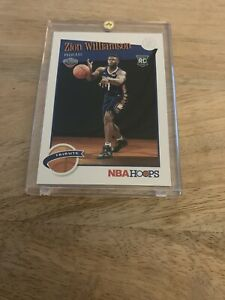2019-20-Panini-NBA-Hoops-Tribute-Zion-Williamson-Rookie-Card-296-Perfect-Card