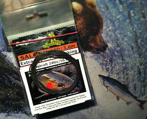 Realistisch Mr Polyleader Salmon 10ft /24lbs Fast Sink By Angelversand Rheinland Fliegenschnüre & -vorfächer