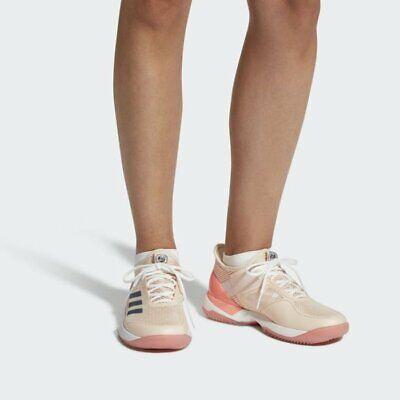Adidas Womens Girls Adizero Ubersonic 3 Clay Tennis Shoes CM7754 UK 4 to 8