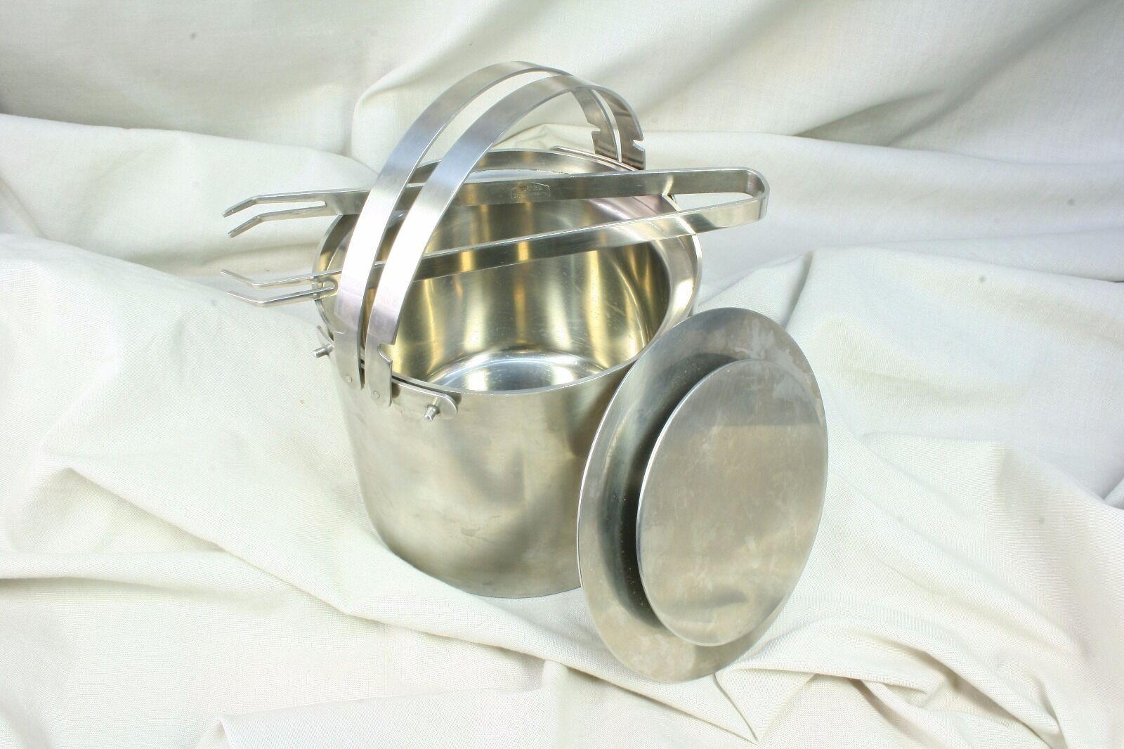 Seau à glace Acier en inoxydable. Arne Jacobsen. SXX à Stainless Steel