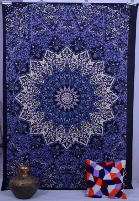 Indian Star Hippie Wall Hanging Psychedelic Mandala Tapestry Twin Throw Ethnic