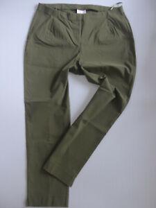 Sheego-Bengalin-Pants-Ladies-Elastic-Band-Green-Size-46-to-54-367-Oversize-New